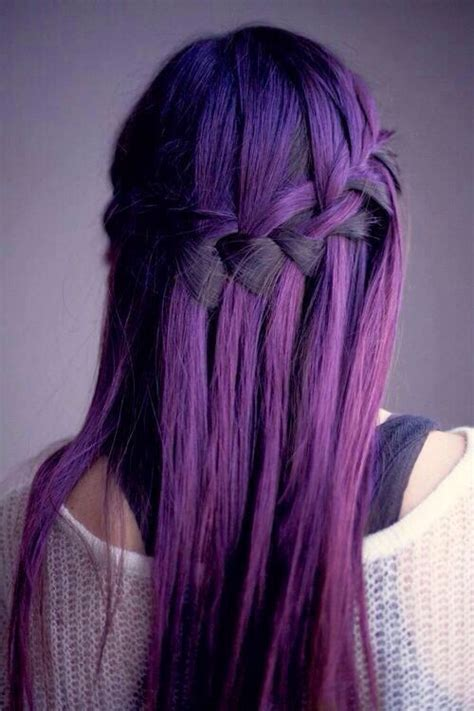 cool dyed hairstyles purple hair image 1955107 by saaabrina on favim com