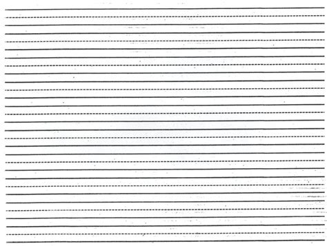 free printable lined paper template