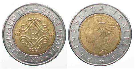500 lire centenario d italia valore 500 lire argento valore e quotazione delle 500 lire