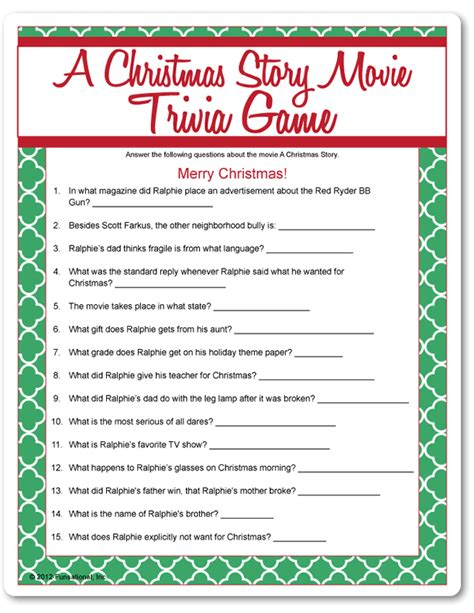 printable christmas movie quotes quiz printable movie trivia questions and answers christmas