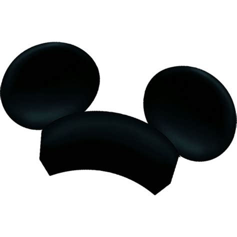 mickey mouse clubhouse paper mouse ears 4ct wally s