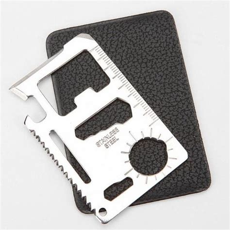 card tools and accessories 11 in 1 multi tool card