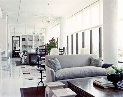home interior deco industrial living room