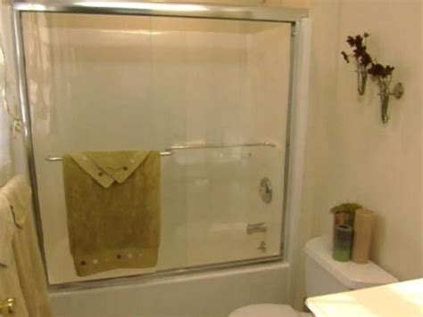 installing a bathroom window install glass shower doors hgtv