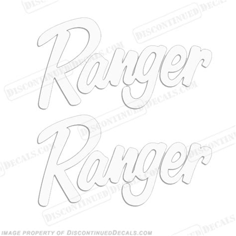 ranger boat window decals ranger windshield decals any color