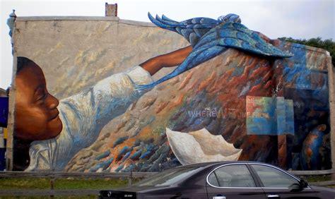 visit philadelphia   beautiful grafitti murals