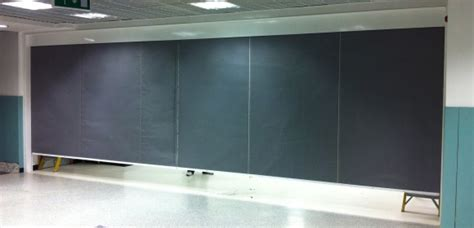 automatic fire curtain firesafe 240 smoke and fire curtains ltd