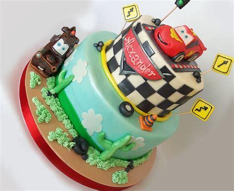 torta di cars torta saetta mcqueen torte per bambini