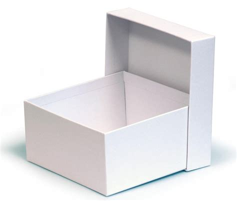 tiny in a box white matt laminated small box 150x150x75mm mmwh15