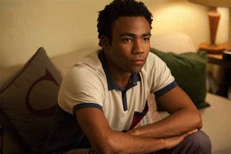 childish gambino community donald glover on why he had to leave community to move his