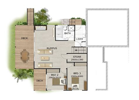 steep slope house plans home plans on steep slopes