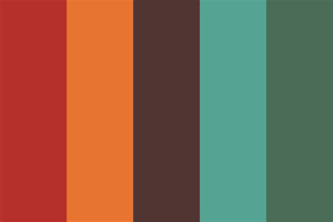 earthy color palette bright and earthy color palette
