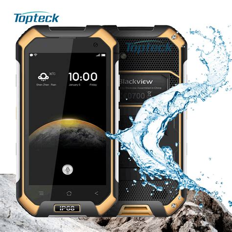 blackview bv6000 bv6000s 4g nfc waterproof shockproof smartphone android 6 0 mt6755 octa