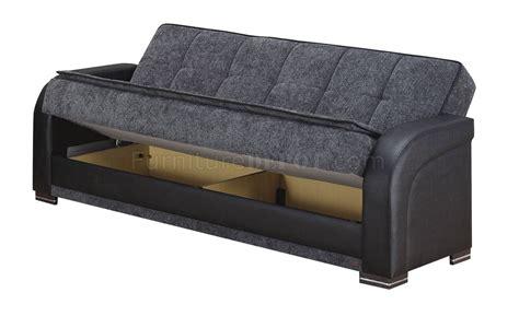 Sectional Sofas Okc Oklahoma Sofa Bed In Grey Fabric Black Vinyl W Options