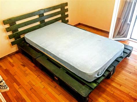 Pallet Platform Bed 10 Ideas About Pallet Bed Frames