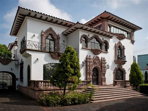 Mission Style House Plans by Historic Mansion In Mexico City Mx Homes Of The Rich