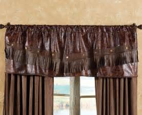 western kitchen curtains distressed leather western valance