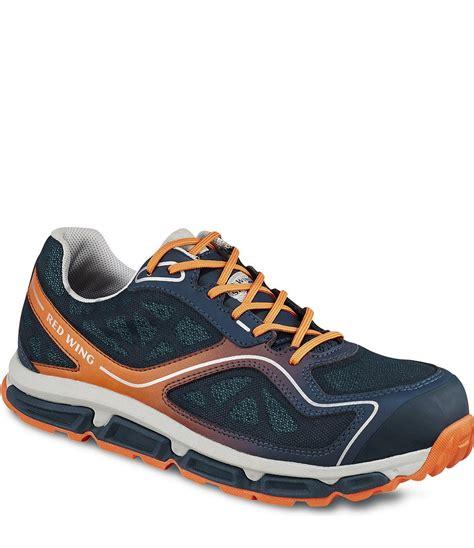 Sepatu Safety Team 6341 Wing S Athletic Navy Orange Sepatu Safety Karunia Safety
