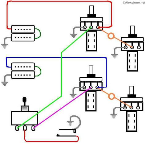 simple les paul wiring diagram get free image about