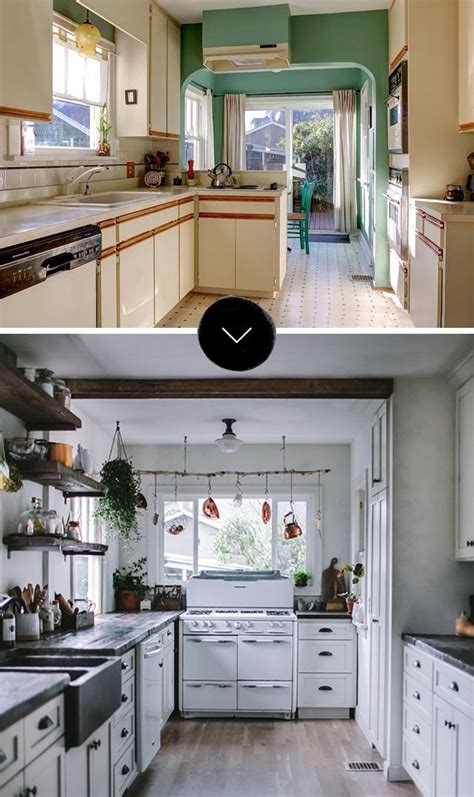our exciting kitchen makeover before and after green our favorite kitchen makeovers design sponge