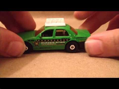 Matchbox Ford Crown Taxi Biru matchbox car review green ford crown taxi