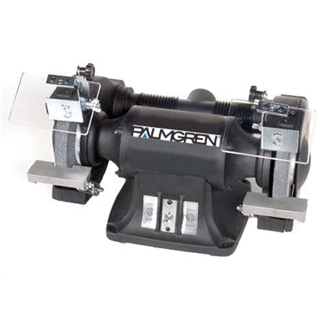 palmgren bench grinder palmgren 9682102 10 quot heavy duty bench grinder 220 440