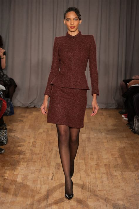 Zac Posen New York Fashion Week There Cant Be Much by Zac Posen New York Fashion Week Fall 2014 Show Popsugar