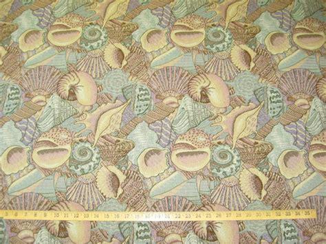 seashell upholstery fabric seashell sea shell tapestry upholstery fabric ft936 ebay