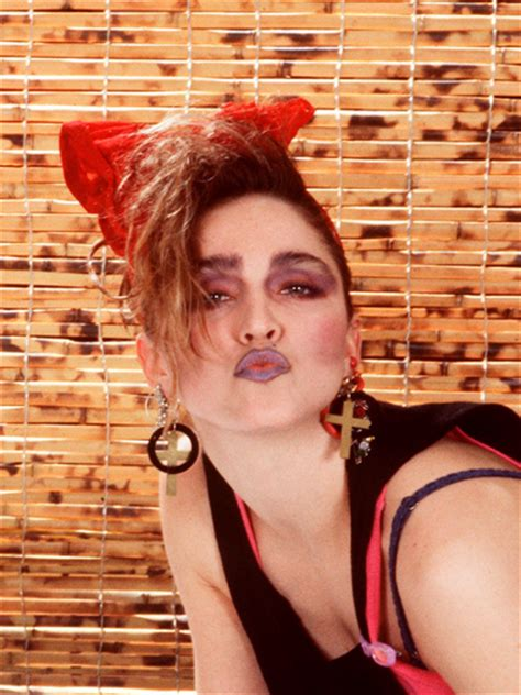 how to make a madonna hair bow then and now madonna 80s and madonna on pinterest