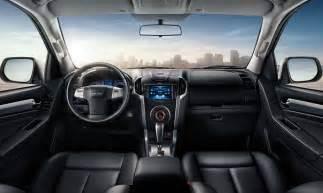 Isuzu Mu X Interior 2017 Isuzu Mu X Release Date Price Autosdrive Info