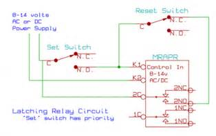 latching relay with manual reset wiring the knownledge