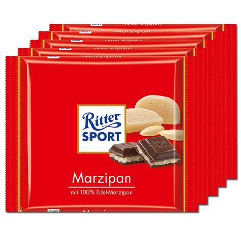 ritter sport tafel ritter sport marzipan schokolade 5 tafeln schokolade