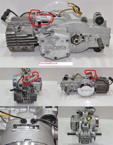 Sachs Motor Tuning by Zwischenflansch F 252 R Sachs 505 Motor Forum Mofapower De