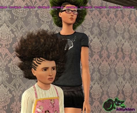 download sims 3 african braids hair by robokitty custom content caboodle