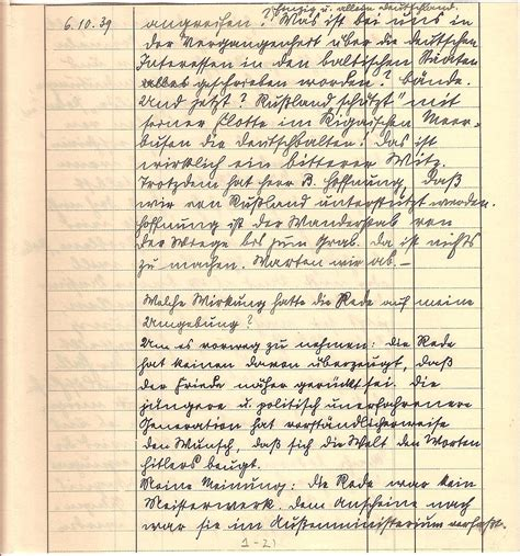 my opposition the diary of friedrich kellner a german against the third reich books file friedrich kellner diary oct 6 1939 p3 jpg