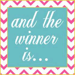 giveaway winner wake and whimsy