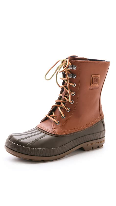 sperry cold bay boot sperry top sider cold bay boots in brown for