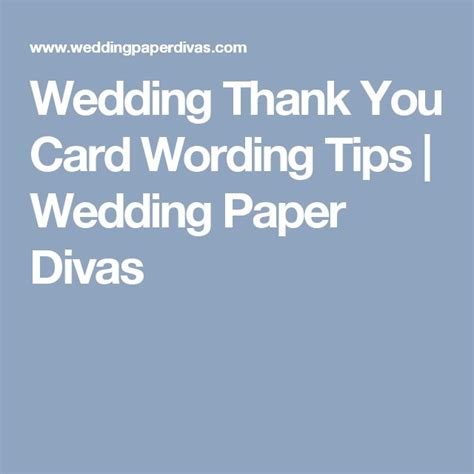 Wedding Paper Divas Thank You Cards by The 25 Best Wedding Thank You Wording Ideas On