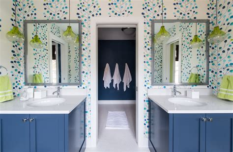 wallpaper for kids bathroom kids bathroom ideas contemporary bathroom refined llc