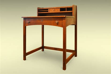 arts and crafts oak desk by charles limbert the design