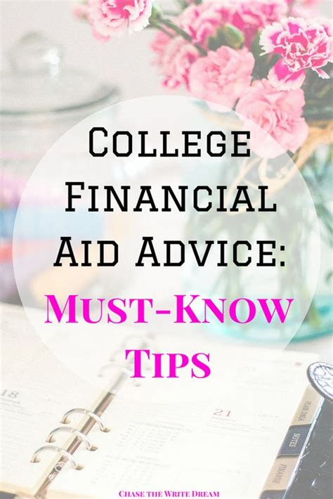 Mba Financial Aid Tips by College Financial Aid Colleges And Tips On