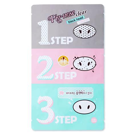 Sale Holika Holika Pig Nose Clear Black 3 Step Kit holika holika pig nose clear blackhead 3 step kit