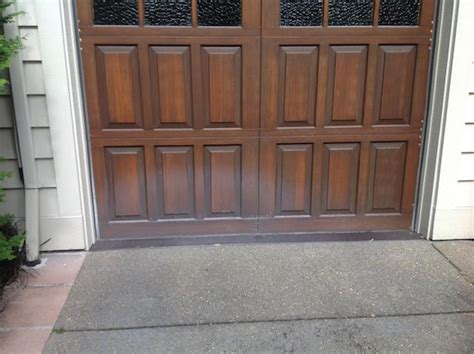 Garage Door Restoration Project In Portland Sundeleaf Garage Doors Portland Or