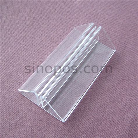 clear plastic table sign holders aliexpress com buy acrylic message holder stand 105mm