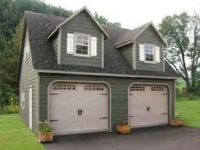 prefab 2 car garages