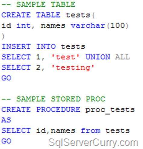 insert into temp table from stored procedure insert rows in temporary table from stored procedure sql
