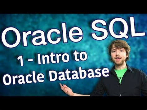 oracle tutorial introduction oracle videolike