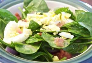 spinach salad with bacon dressing beyer beware