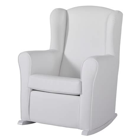 nursing recliner chair nursing chair in white leatherette nursing chairs