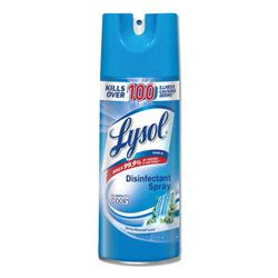reckitt benckiser lysol disinfectant spray aerosol   oz case   rec